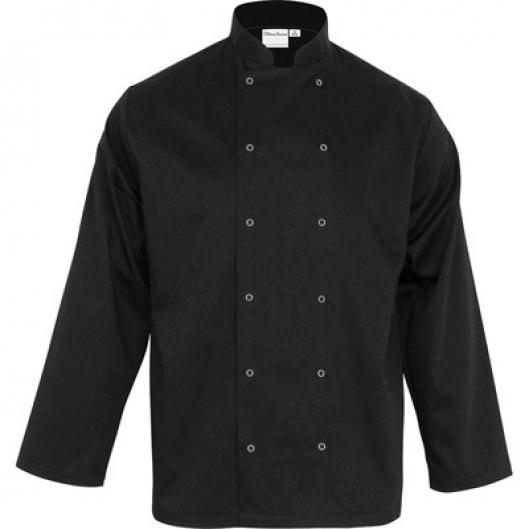 Bluza kucharska czarna chef s unisex