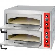 Piec do pizzy 2x6 fi 320 mm - Centrum Wyposażenia Sklepów