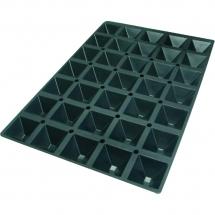 Forma do wypieków piramida 600x400 mm - Centrum Wyposażenia Sklepów