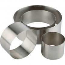 Pierścień cukierniczo-kucharski d 80 mm h 45 mm - Centrum Wyposażenia Sklepów