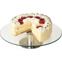 Patera do tortu i ciast szklana d 300 mm - Centrum Wyposażenia Sklepów
