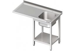 Stół ze zlewem 1-kom.(p) i miejscem na lodówkę lub zmywarkę 1200x700x900 mm skręcany