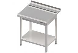 Stół wyładowczy(p), z półką do zmywarki silanos 800x700x880 mm skręcany