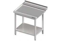 Stół wyładowczy(l), z półką do zmywarki silanos 800x700x880 mm skręcany