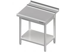 Stół wyładowczy(p), z półką do zmywarki silanos 800x740x880 mm skręcany