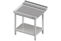 Stół wyładowczy(l), z półką do zmywarki silanos 800x740x880 mm skręcany