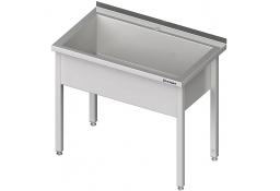 Stół z basenem 1-komorowym spawany 600x600x850 mm h=300 mm