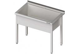 Stół z basenem 1-komorowym spawany 800x600x850 mm h=300 mm