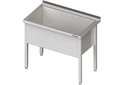 Stół z basenem 1-komorowym spawany 1000x600x850 mm h=400 mm
