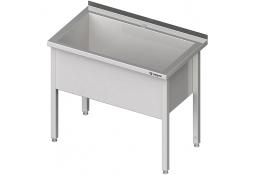 Stół z basenem 1-komorowym spawany 600x700x850 mm h=400 mm