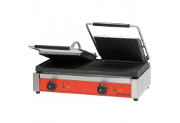Kontakt grill podwójny high ryflowany