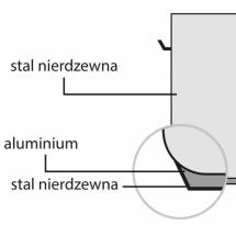 Garnek wysoki d 400 mm 50,3 l bez pokrywki