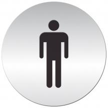 Tabliczka samoprzylepna - mężczyźni