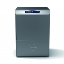 Zmywarka uniwersalna 6,4kw z dozownikiem płynu myjącego oraz zmiękczaczem automatycznym, pompą wspomogająca płukanie, wyswietlaczem temp.