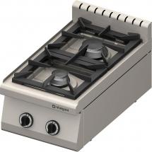 Kuchnia nastawna gazowa 2 palnikowa 400x700 8,5 kw - g30/31 (propan-butan)