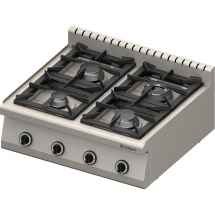 Kuchnia nastawna gazowa 4 palnikowa 800x700 20,5kw - g20 (gz50)