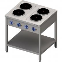 Kuchnia elektryczna wolnostojąca 4x2,5 kw