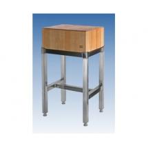 Kloc drewniany podstawa metal - Centrum Wyposażenia Sklepów