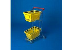 Wózek na dwa koszyki