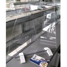 Przegroda plexi - Centrum Wyposażenia Sklepów