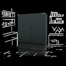 Szafa chłodnicza ECOline SCH-Z dwudrzwiowa - Centrum Wyposażenia Sklepów