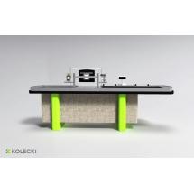 Boks kasowy Kolecki - ACX 03 - Centrum Wyposażenia Sklepów