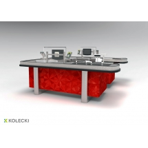 Boks kasowy Kolecki - ACX 22 - Centrum Wyposażenia Sklepów