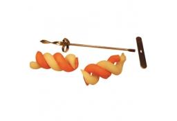 Nóż do wycinania spirali z warzyw (podwójny)