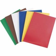 Deska do krojenia 600x400x20 mm czerwona - Centrum Wyposażenia Sklepów